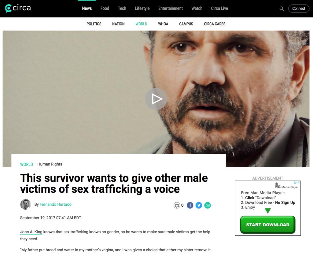 Circa #drjohnaking #dealwithit #humantrafficking